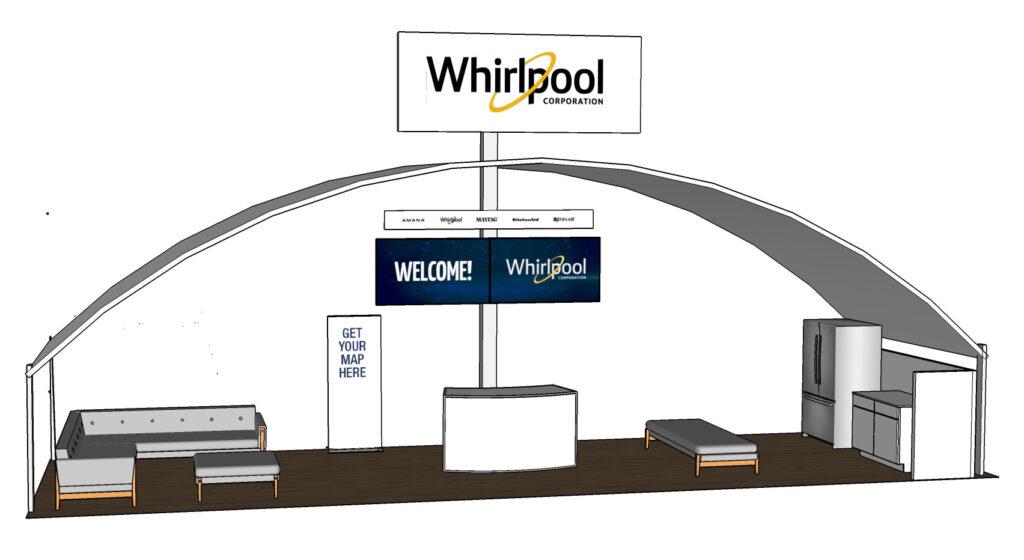 Concept Explore, featuring a reception desk